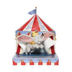 디즈니 텐트속 덤보 코끼리 피규어
