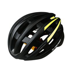 CoolChange 후미등 일체형 자전거 헬멧YELLOW BLACK