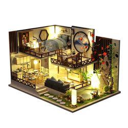 [adico]DIY 미니어처 하우스 - 블랙 올드 하우스
