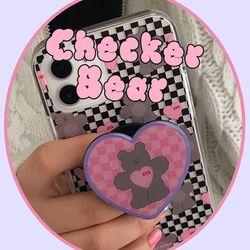 Checker Bear tok (스마트톡)