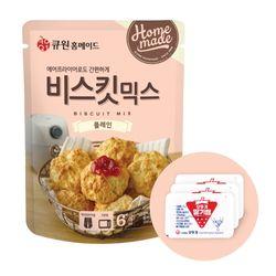 큐원 비스킷 믹스 플레인 + 오뚜기 딸기잼 세트