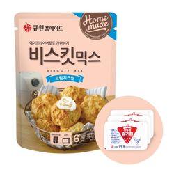 큐원 비스킷 믹스 크림치즈맛 + 오뚜기 딸기잼 세트