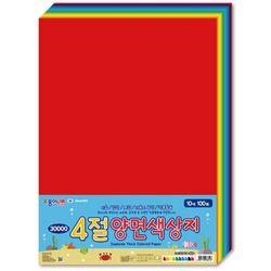 종이나라 4절 양면색상지 100매