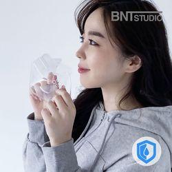 연예인 3D 방수 립뷰 클리어 투명 마스크