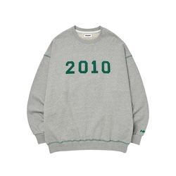 2010 PATCH SWEATSHIRT GRAY