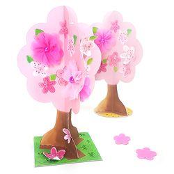 봄꽃 나무 만들기 (5인용)