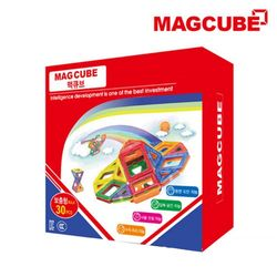 맥큐브 자석블럭 기본 블럭팩(30pcs)