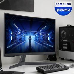 삼성 오디세이 게이밍 모니터 C27G54T 27인치 커브드 HDR