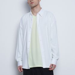 M05 basic over shirts white