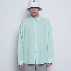M97 yoo linen over shirts mint