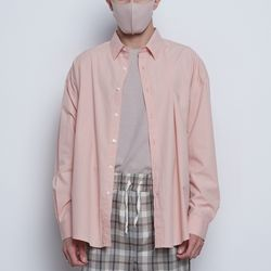 M97 yoo linen over shirts pink