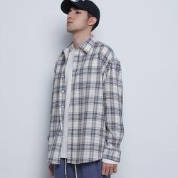 M03 bold check shirts black