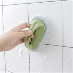 홈슨 손잡이 스펀지 수세미 / 주방 욕실 청소 수세미