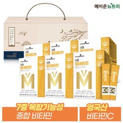 슈퍼 멀티 종합비타민 미네랄 분말스틱 6박스 선물세트