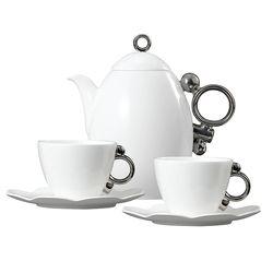 Geometrica 지오메트리카 플래티넘 커피&주전자 세트 3(6)p