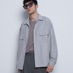 M03 string over jacket grey