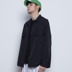 M03 string over jacket black