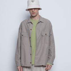 M03 string over jacket beige