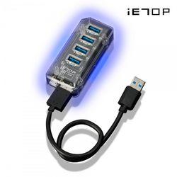 USB 3.1 LED 유전원 고속 허브 4포트 (U3-36)