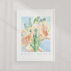 [부활절포스터] Born Again