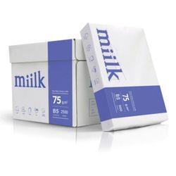 밀크복사지 B5 75g 500매 1권 인쇄용지 출력 페이퍼