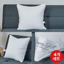 호텔다운필쿠션솜50504개세트FP20SET010