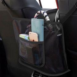 차량사이드포켓 뒷좌석 수납 편리한차량수납바스켓 (메쉬)