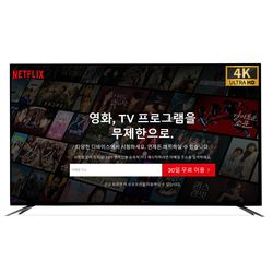 브라운슈거 UHD 4K TV 65인치