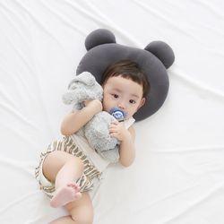 아기 곰돌이 캐릭터 짱구베개 신생아 베개 32x29
