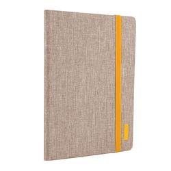 아이패드미니4 옐로우 라인 가죽 태블릿 케이스 T063