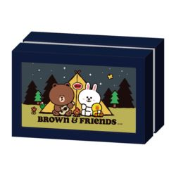 라인프렌즈 브라운 캠프파이어 108피스 퍼즐&액자