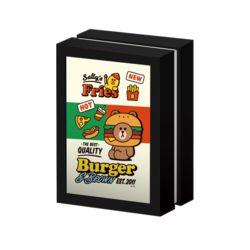 라인프렌즈 브라운 버거프렌드 108피스 퍼즐&액자
