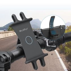 실리콘 고정 스마트폰 360도회전 자전거 휴대폰거치대