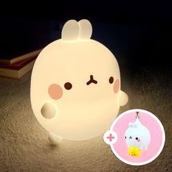 [몰랑이키체인증정] 자이언트 몰랑이 LED 충전식 무드등