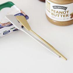국내산 샤틴 빵 버터 나이프 홈카페 디저트 (2color)