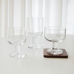 보르미올리 호스테리아 고블렛 와인잔 유리컵 (3size)