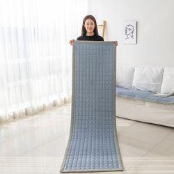 arugo 엠보선염사카 누빔 소파 패드 깔개 방석 매트 쇼파커버
