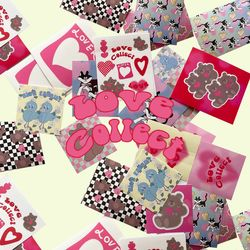 love collect sticker pack