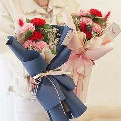 사랑해 엄마 아빠 카네이션 꽃다발