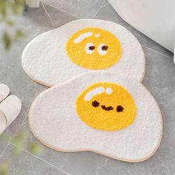 에그 발매트 계란후라이 매트 욕실 주방 다용도 미끄럼방지