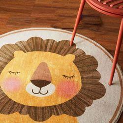[옵션 추가액 확인] 원형 동화풍 러그 카펫