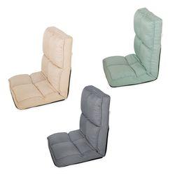 접이식 좌식 소파 체어 1인 등받이 방석 바닥 의자