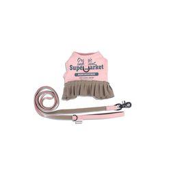 Frilly Supermarket Harness Set Pink Salt
