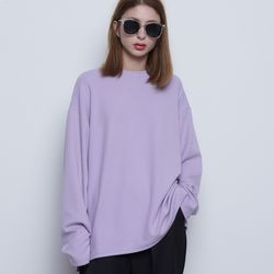 W422 bell sleeve tee purple