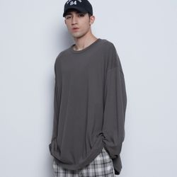 M20 over round tee charcoal