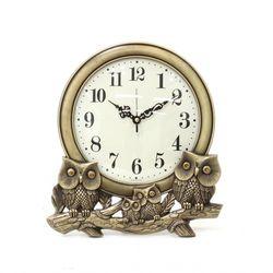 (kmy022)저소음 신주부엉이 가족 시계 (대)(벽탁상 겸용)