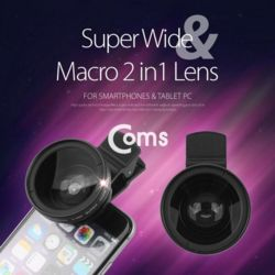 Coms 스마트폰 카메라 확대경2 in 1 37mm 셀카렌즈 S