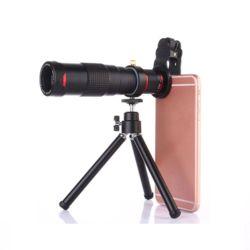4K HD 22X 스마트폰 망원렌즈 F1.8 250mm