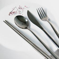 라피네 실버 커트러리 4종세트 스푼 젓가락 포크 나이프 양식기