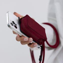 신지마운트 미니집 수납깡패 핸드폰 파우치